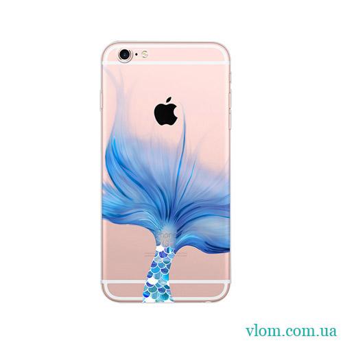 Чехол Русалочка  for на Iphone 6/6s