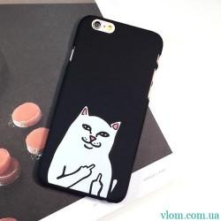 Чехол злой котик на Iphone 6 plus