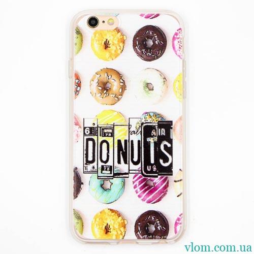 Чехол Donuts на Iphone 6 plus