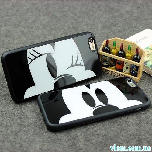 Чехол Mickey Minnie Mouse на Iphone 6 plus