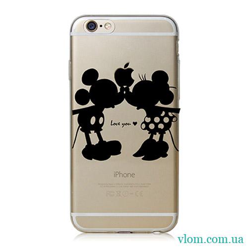 Чехол Mickey Love на Iphone 6/6s PLUS