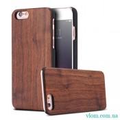 Чехол Деревянный Накладка FLOVEME на Iphone 6/6s;