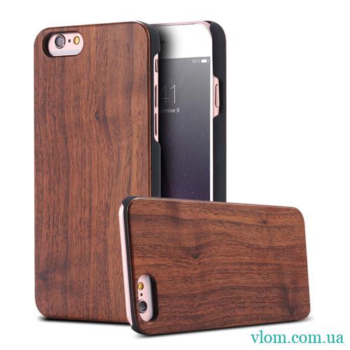 Чехол Деревянный Накладка FLOVEME на на Iphone 6/6s;