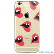 Чехол красные губы на Iphone 7/8 PLUS