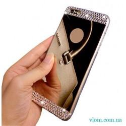 Чехол зеркальный со стразами на Iphone 7/8 PLUS