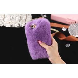 Чехол мех кролика на Iphone 7/8 PLUS