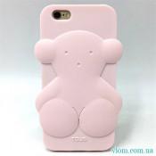 Чехол розовый мишка на Iphone 7/8