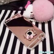 Чехол hello kitty со стразами  на Iphone 7/8 PLUS