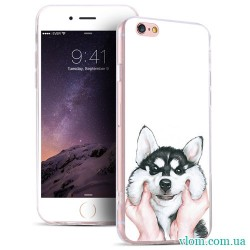 Чехол мультяшный пес на Iphone 7/8 PLUS