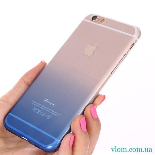 Чехол синий градиент на Iphone 7/8 PLUS
