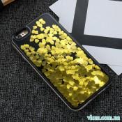 Чехол жидкость сердечки на Iphone 7/8 plus