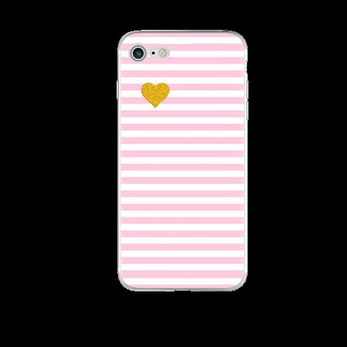 Чехол силиконовый Розовый на Iphone 6/6s plus