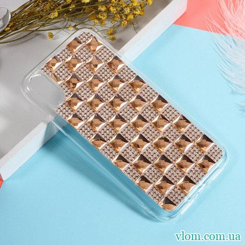 Чехол Кристаллы на Iphone X 10