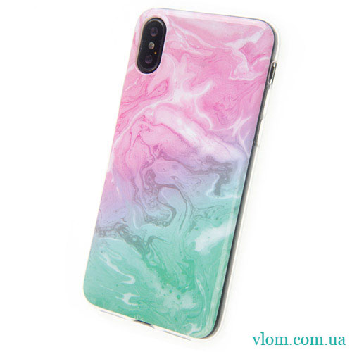Чехол Мрамор на Iphone X 10