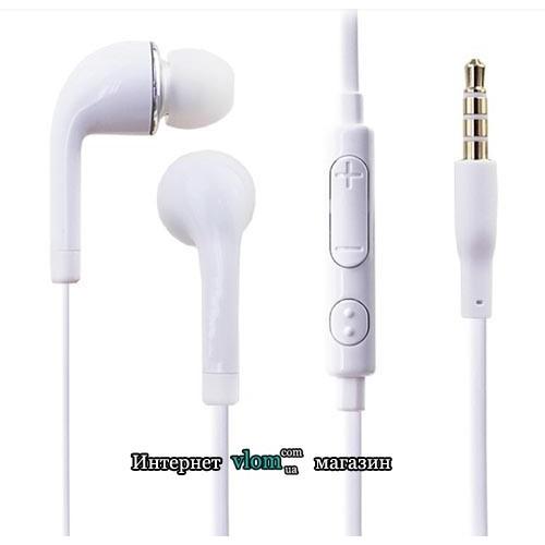 Наушники с микрофоном для Samsung Galaxy или iPhone