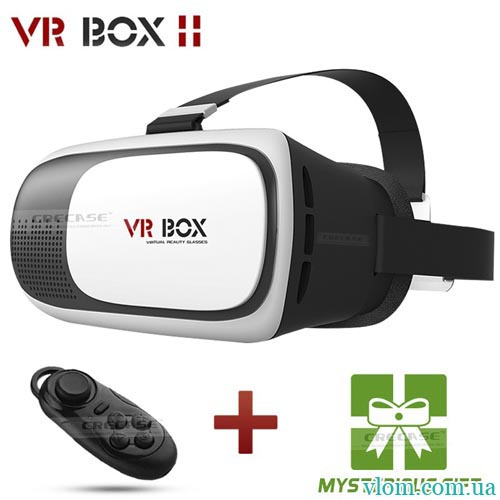 Шлем виртуальной реальности VR Box 2 + пульт