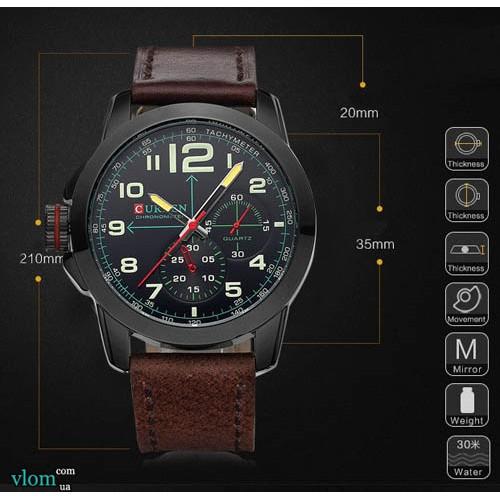 Мужские современные часы Curren 8182