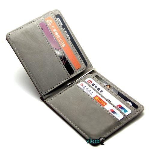 Мужской кошелек держатель для денег
