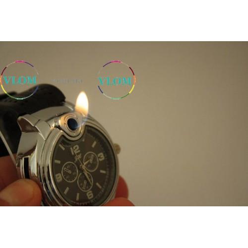 Мужские оригинальные наручные часы Зажигалка