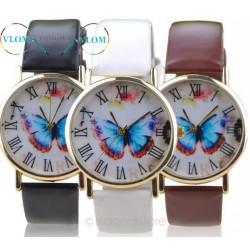 Женские часы с бабочкой